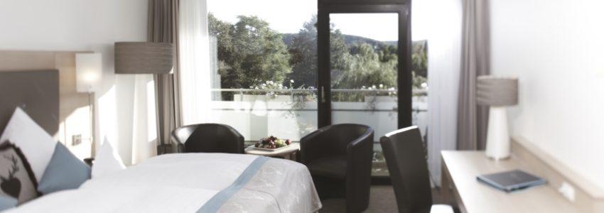Komfort-Doppelzimmer-Wellnesshotel-Bayern